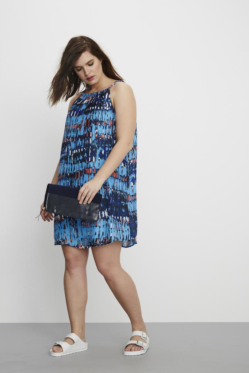BB Dakota Merci Plus size summer dress front