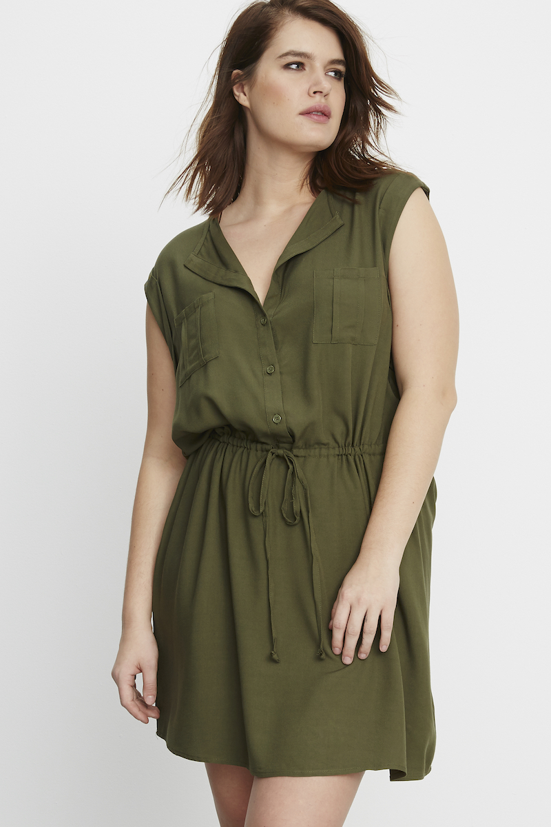 BB Dakota Utility Shirt Dress
