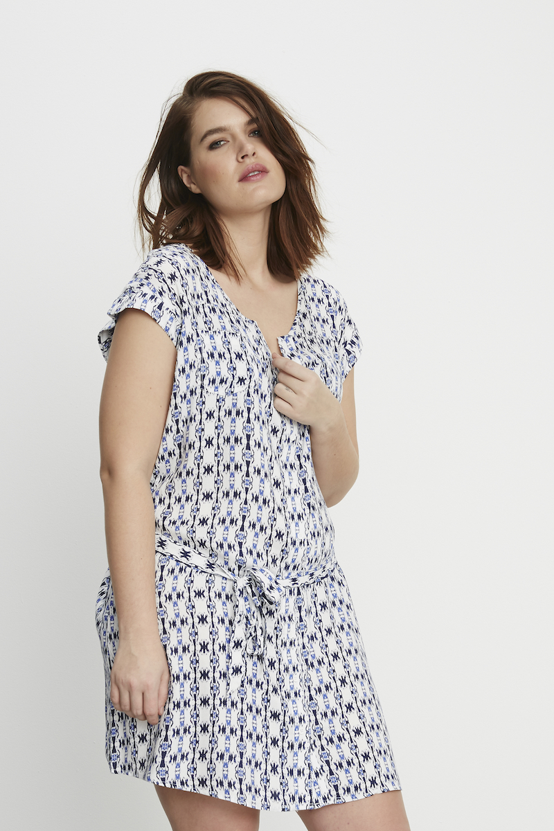 BB Dakota Contemporay Plus size Shirtdress