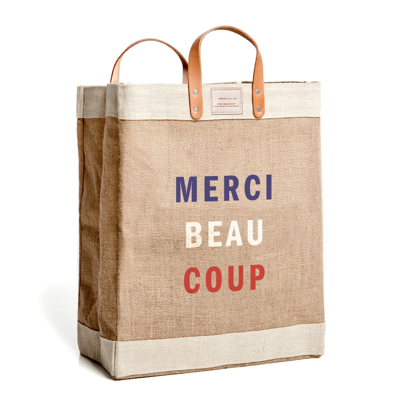 Clare V Apolis Merci Beaucoup Market Bag