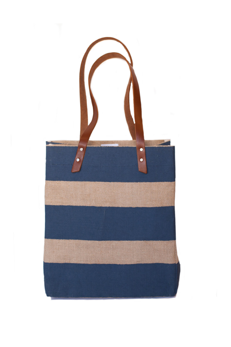 Apolis nautical Striped Standard Tote