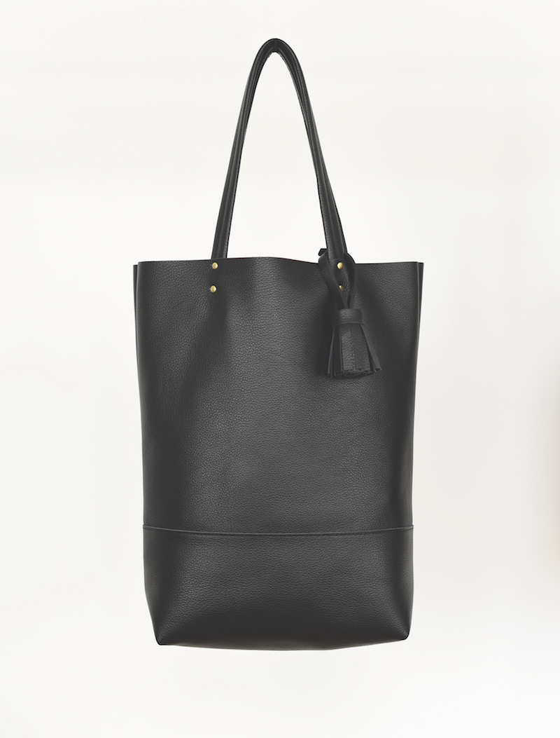 black leather tote 862 coverstorynyc