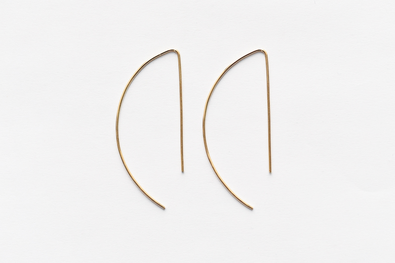 8.6.2 14K gold filled arge hoops earrings