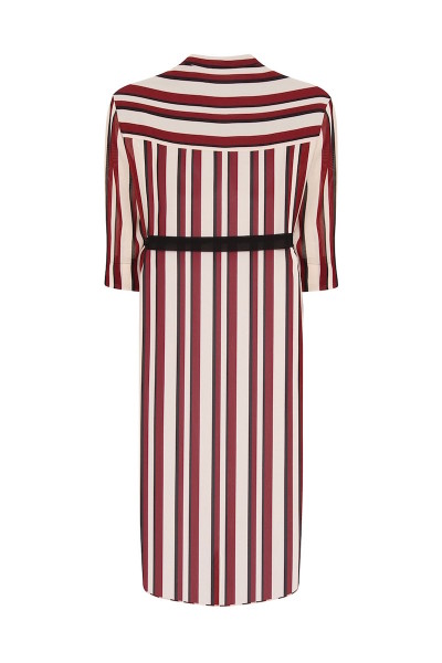 coverstorynyc elvi plus size stripe shirtdress