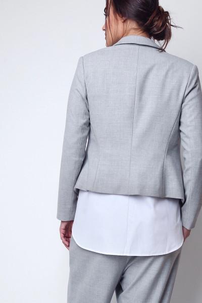 shegul plus size tuxedo jacket grey coverstorynyc