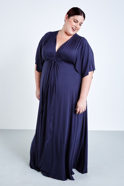 coverstoryNYC plus size Rachel Pally White label maxi dress eclipse