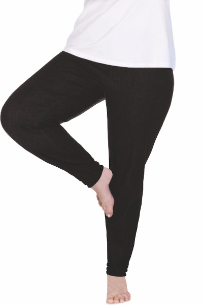 Coverstory yoga jeans plus size skinny jeans black
