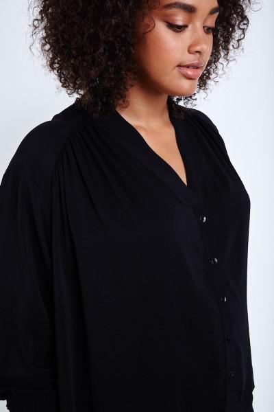 coverstory shegul plus size shirt black
