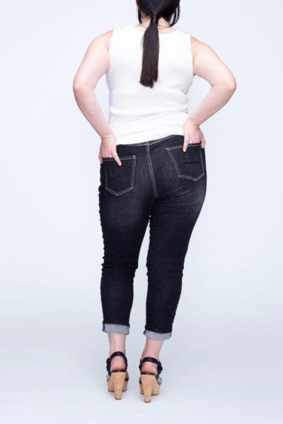 universal standard seine jeans black plus size coverstory