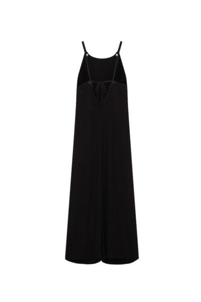 elvi wide leg jumpsuit black plus size
