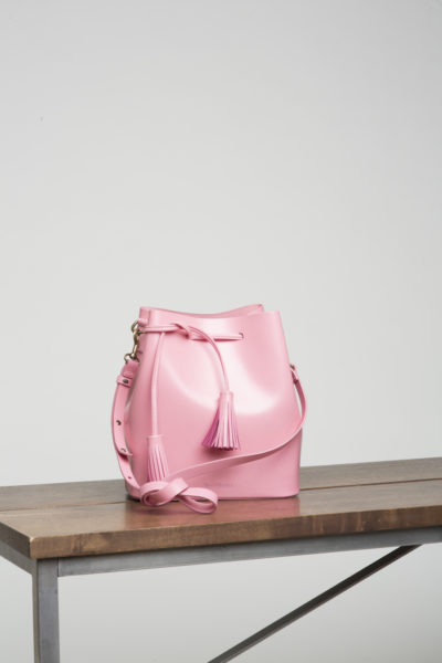 VereVerto Dita Bucket Bag Pink CoverstoryNYC