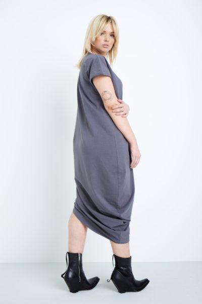 universal standard geneva dress anchor grey