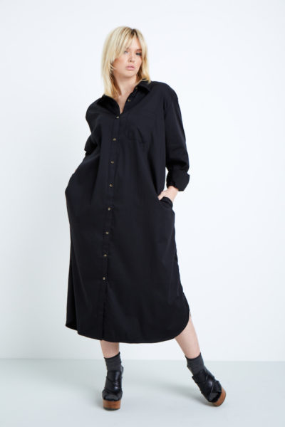 universal standard georgia shirtdress