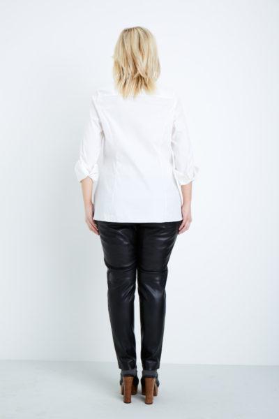 shegul essential shirt plus size white