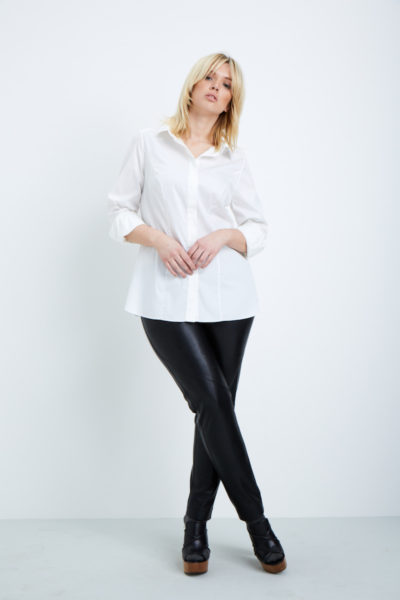Shegul Ava Vegan Leather Pants plus size coverstory