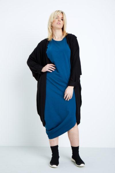 universal standard geneva dress patriot blue plus size