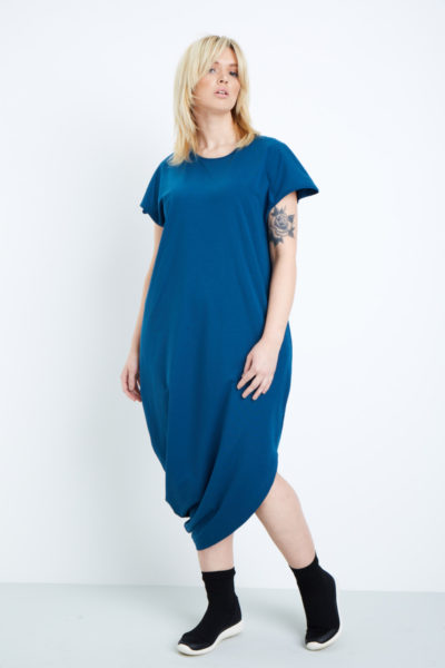 universal standard geneva dress patriot blue plus size CoverstoryNYC