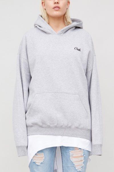 OAK signature hooded sweatshirt plus size CoverstoryNYC